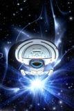 Oförskräckt grupp för Starship resande Royaltyfri Bild