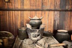 Ofen gebackener Lehm der thailändischen Küche Lizenzfreie Stockfotografie