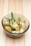 Ofen gebratene Kartoffeln Stockfoto