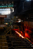Ofen und Stahl Lizenzfreie Stockfotos
