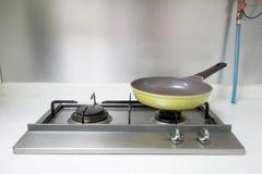 Ofen und Wanne Stockfoto