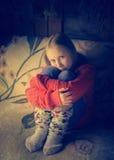 Ofendido en todo el adolescente aburrido Imagen de archivo libre de regalías