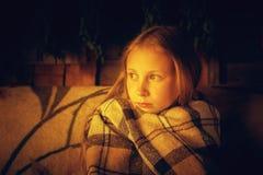 Ofendido en todo el adolescente aburrido Foto de archivo