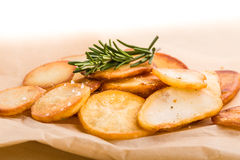 Ofenkartoffeln Lizenzfreies Stockfoto