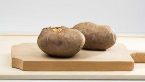 Ofenkartoffeln mit Oberteil Lizenzfreie Stockfotografie