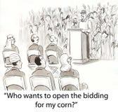 Oferecimento no milho Fotografia de Stock