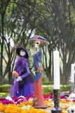 Oferecimento tradicional aos mortos em México Fotos de Stock Royalty Free