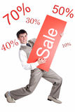 Oferta da venda Fotografia de Stock Royalty Free