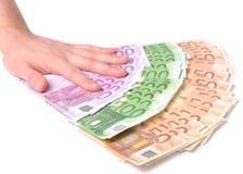 Oferta del dinero Fotografía de archivo libre de regalías