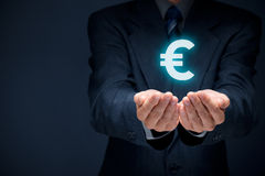 Oferta do Euro Fotografia de Stock Royalty Free