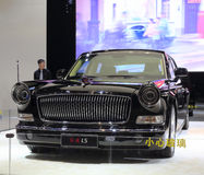 Oferta $ 900.000 do sedan da bandeira vermelha l5 Fotografia de Stock