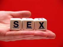 Oferta do sexo Imagem de Stock Royalty Free