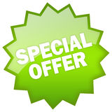 Oferta especial Imagens de Stock Royalty Free