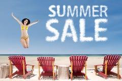 Oferta especial da temporada de verão Foto de Stock Royalty Free