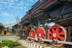 Oferta locomotora soviética Imagenes de archivo