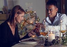 Oferta para la boda en la Navidad Imagen de archivo libre de regalías