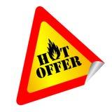 Oferta quente Imagens de Stock Royalty Free