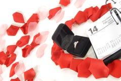 Oferta romántica Imágenes de archivo libres de regalías