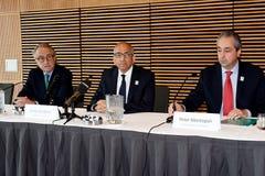 Oferta unida para hospedar o campeonato do mundo 2016 de FIFA foto de stock royalty free