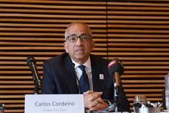 Oferta unida para hospedar o delegado 2016 do _usa do campeonato do mundo de FIFA Foto de Stock