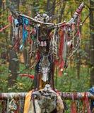 Ofertas aos deuses pagãos Fotos de Stock