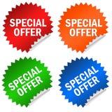 oferty dodatek specjalny Obrazy Royalty Free