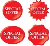 oferty dodatek specjalny Obrazy Stock