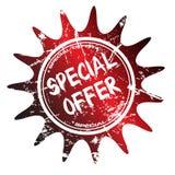 oferty dodatek specjalny znaczek Obrazy Royalty Free