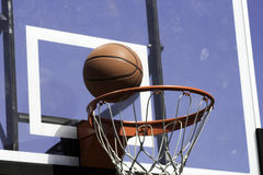 Off the Backboard Stock Photo