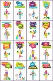 -70 Off Best Sale Collection Vector Illustration Royalty Free Stock Photos