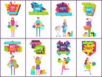 -70 Off Best Sale and Price Vector Illustration Stock Photography