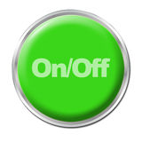 On/Off Button Stock Photo