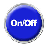 On/Off Button Royalty Free Stock Photography