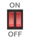On-off button Stock Photography