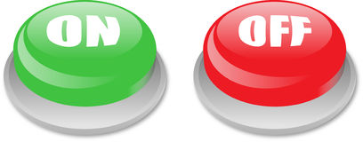 On off button icon Royalty Free Stock Photography