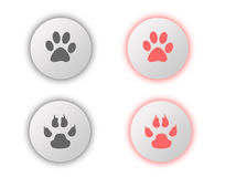 ON and OFF button Stock Images