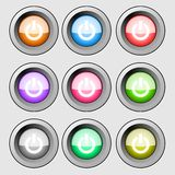 On off buttons Stock Photography