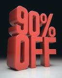 90% Off Royalty Free Stock Photos