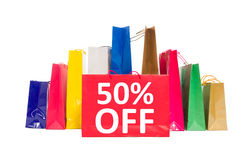 50 off discount Royalty Free Stock Images