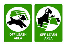 Off leash area Stock Images