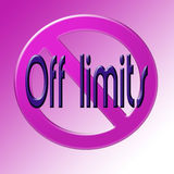 Off limits Stock Images