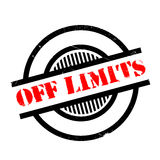 Off Limits rubber stamp Royalty Free Stock Photo