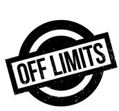 Off Limits rubber stamp Stock Photos