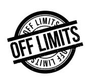 Off Limits rubber stamp Stock Photo