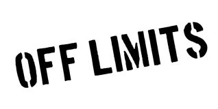 Off Limits rubber stamp Stock Images