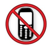 Off Mobile Sign Switch Off Phone Icon Mobile Warning Symbol. Illustration of no mobile use icon logo sign cellphone is not allowed and prohibited to use Royalty Free Stock Photos