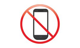 Free Off Mobile Sign Switch Off Phone Icon No Phone Allowed Mobile Warning Symbol Royalty Free Stock Image - 123841726