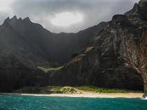 Off the Napali Coast Stock Images