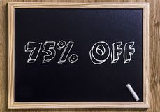 75% off Royalty Free Stock Photo