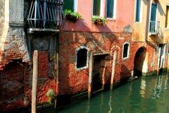 Off-off-Canalasso Canareggio Venezia Royaltyfri Fotografi